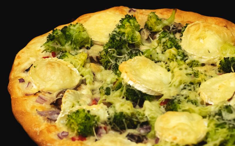 🥦 Pizza aux brocolis & fromages 🥦