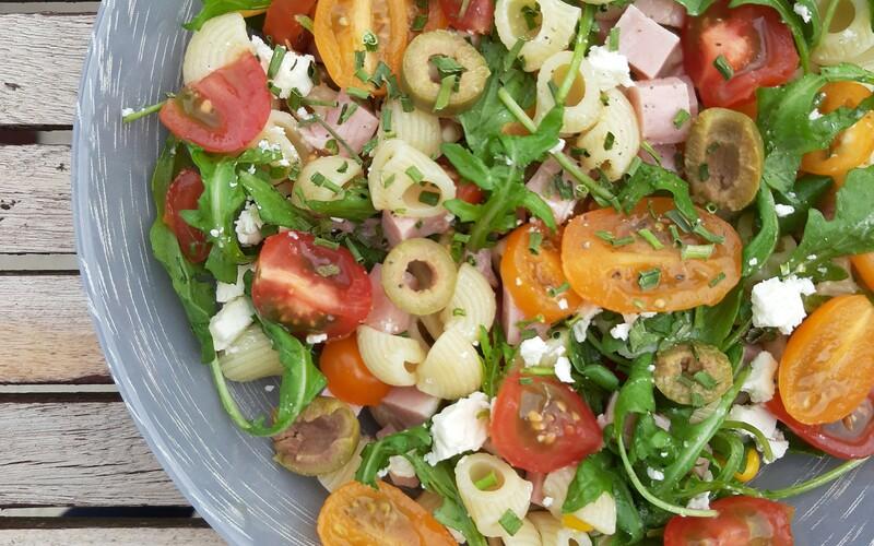 Salade composée pâtes