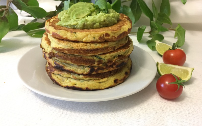 Pancakes ricotta/courgette