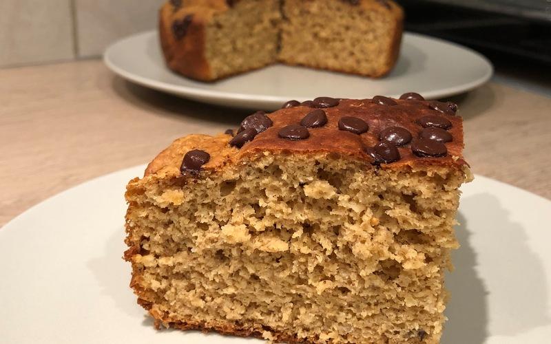 Gâteau moelleux cacahuète-chocolat