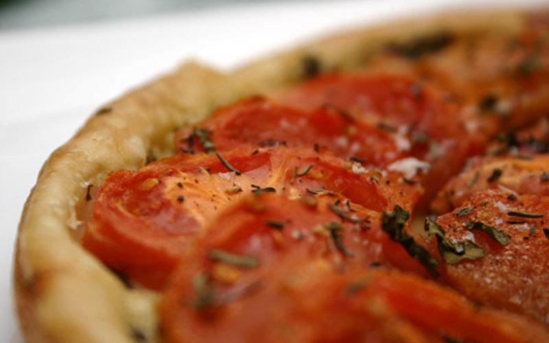 Tarte Tomate - Comté - Moutarde
