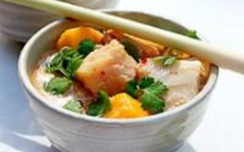 Curry Thai (rouge) de saumon