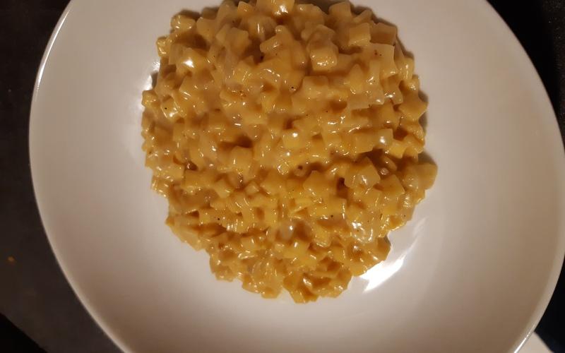 Crozotto au fromage