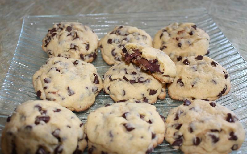 Cookies cœur fondant au Nutella