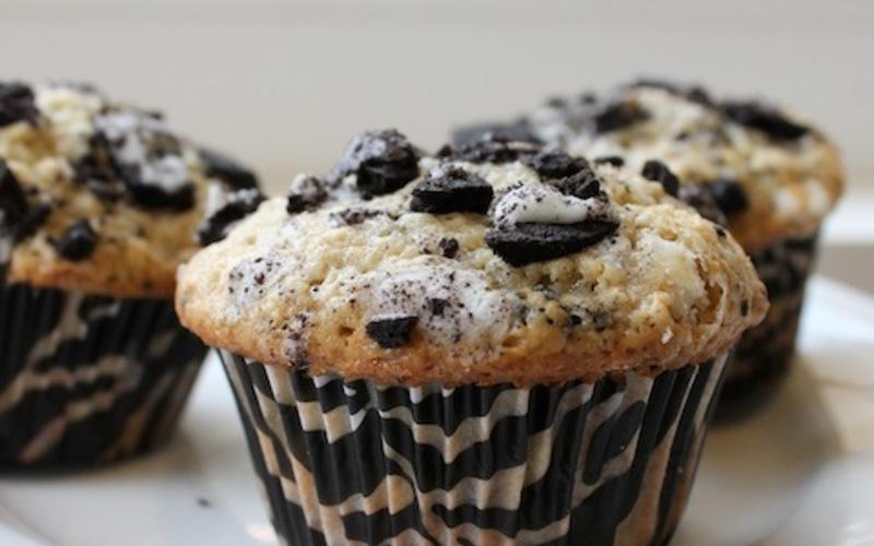 Muffins aux Oréos