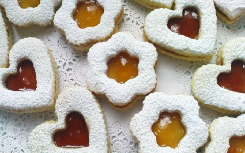 Recette sabl s aux confitures rapide et simple cuisine tudiant - Recette sable confiture maizena ...