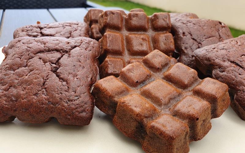 Gâteaux moelleux chocolat-betterave