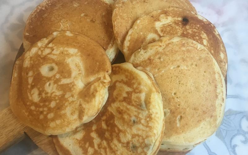 Pancakes légers au lben
