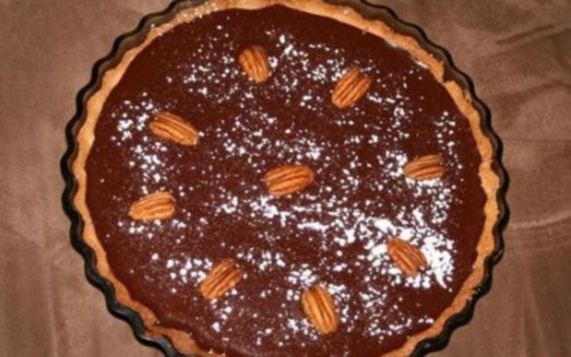 Tarte au chocolat et noix de pécan 100% gourmande