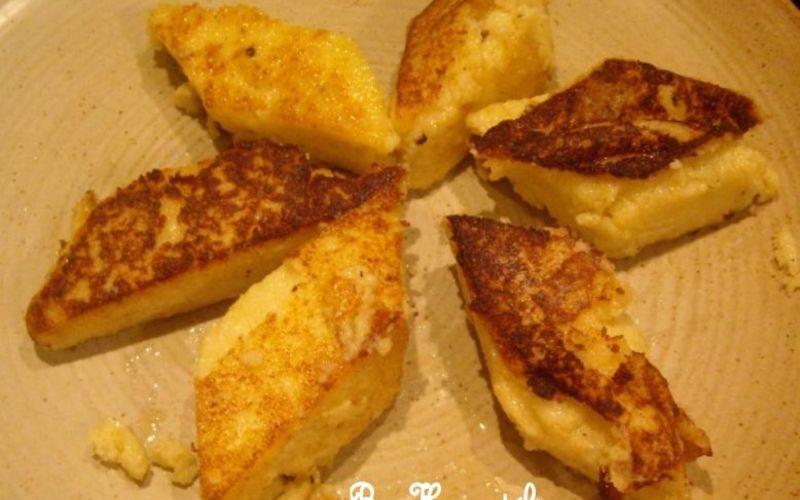 Griesknepfle ou gnocchis de semoule
