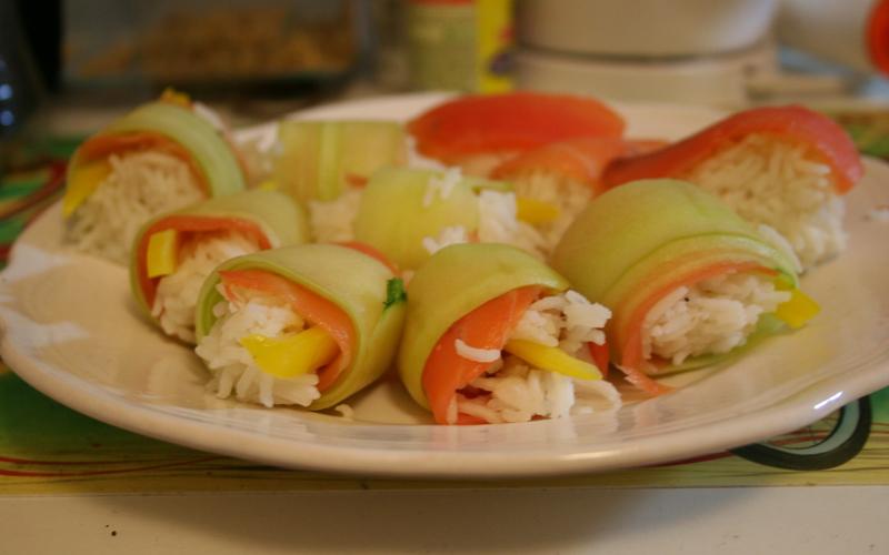 Recette sushis arrang s conomique cuisine tudiant for Cuisine etudiant