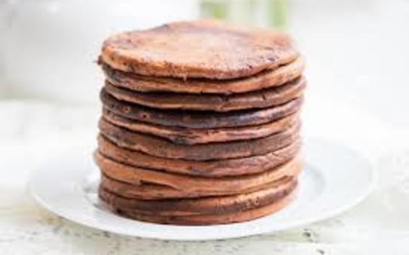 pancakes  au chocolat/bananes