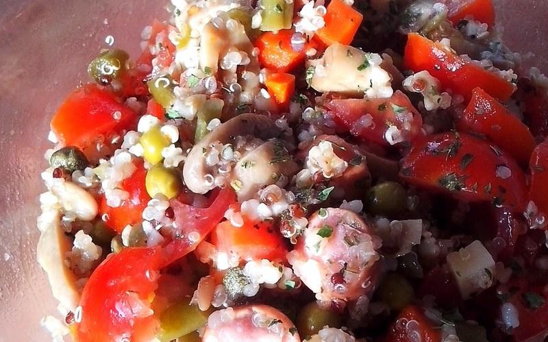 Salade de quinoa facile
