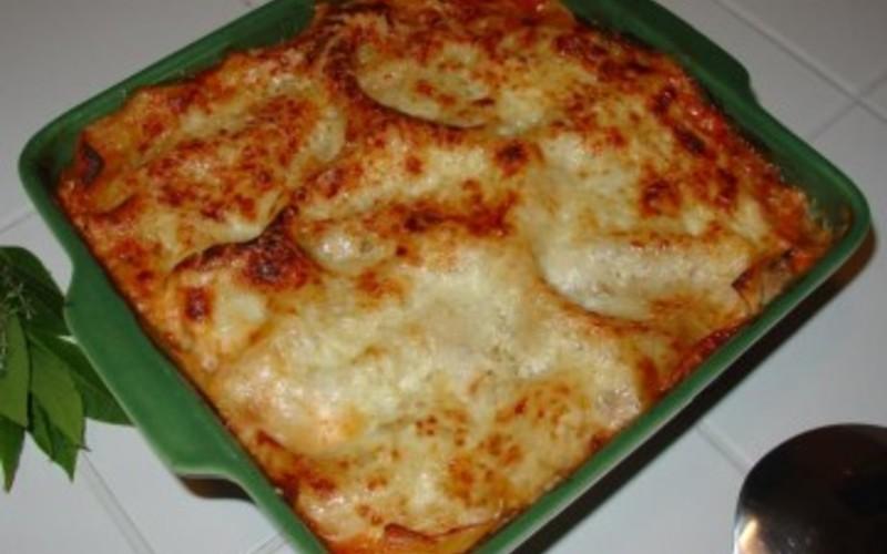 gratin de courgettes à l'italienne buonissimo!