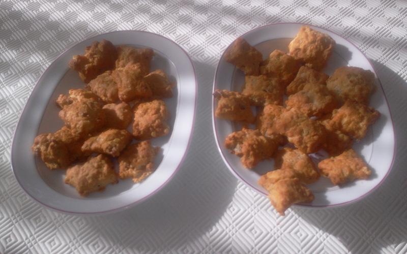 Biscuits roquefort/noix