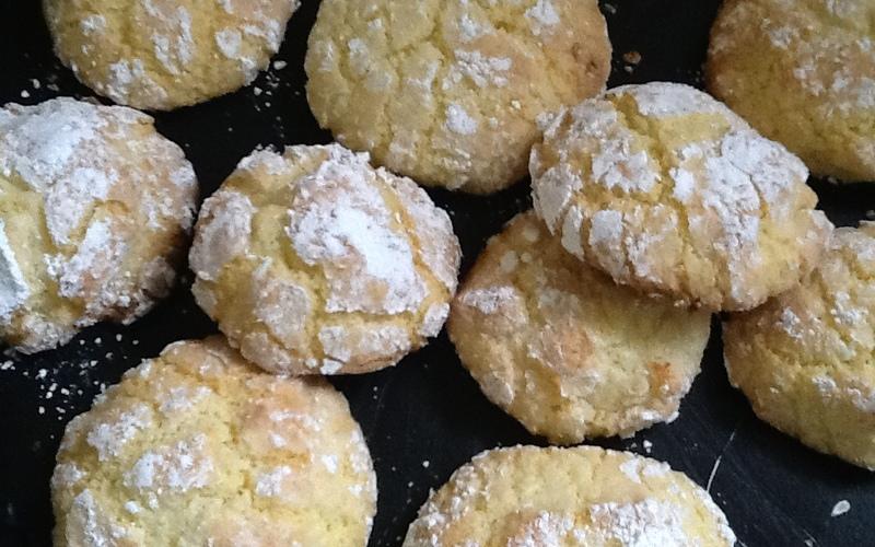 Biscuits marocain coco (ghoriba)
