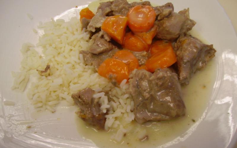 Recette blanquette de veau de ma maman conomique et - Cuisine blanquette de veau ...