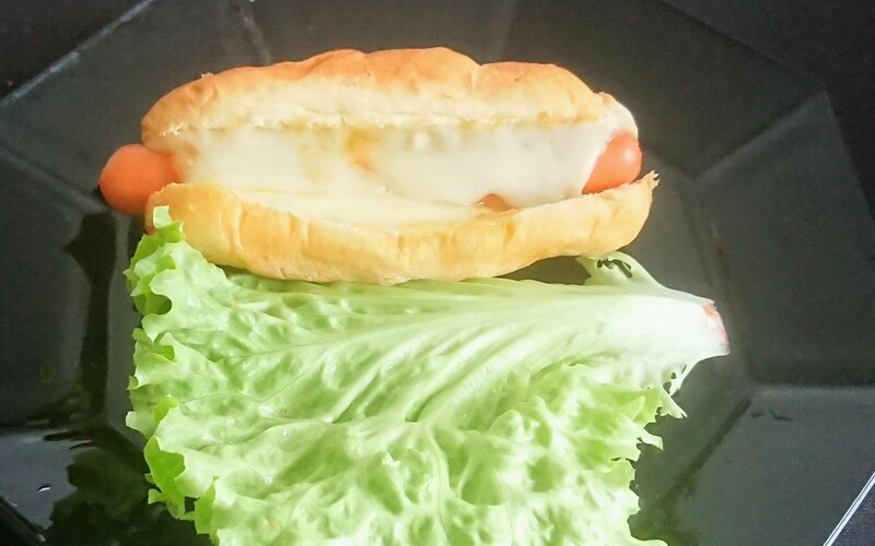 Hot dog express au fromage coulant
