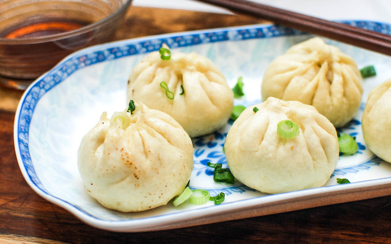 Sheng Jian Bao (Brioches au Porc à la Vapeur)