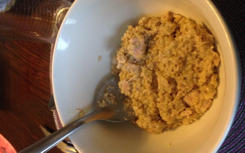 Risotto au quinoa et au thon