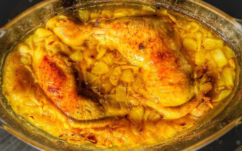 Recette Cuisses De Poulet Express Au Four Pas Chère Et Simple Cuisine étudiant