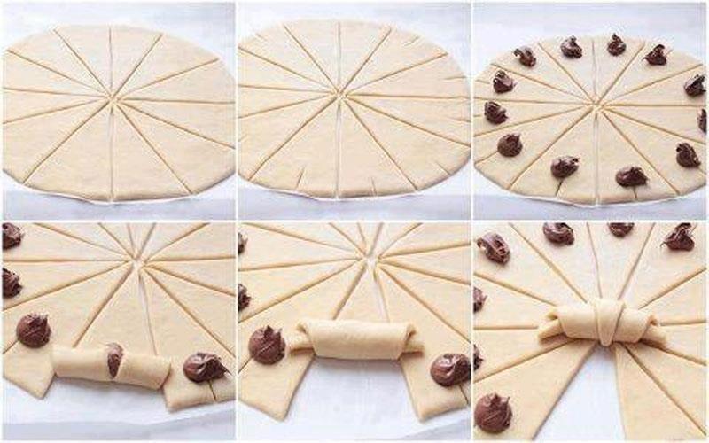 Connu Recette Croissants au Nutella pas chère et express > Cuisine Étudiant FF04