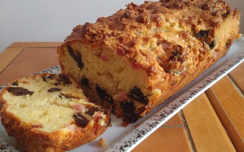 Cake Au Jambon Et Pruneaux