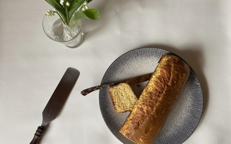 Cake à la vanille façon Quatre-Quarts Healthy