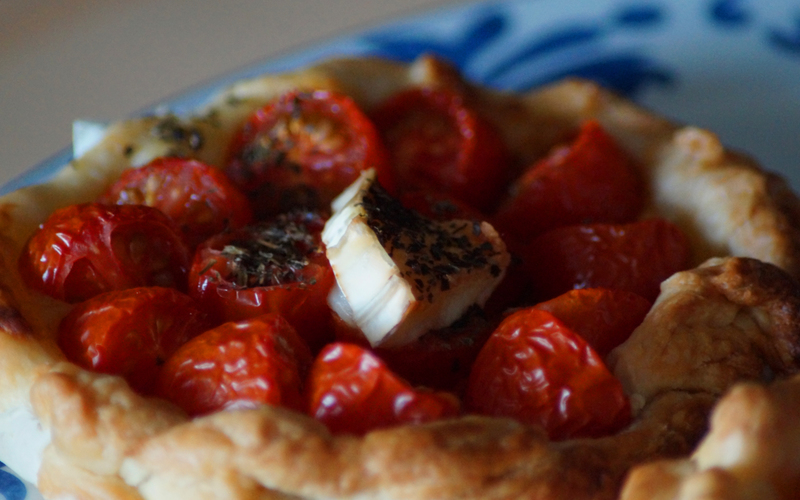 Tarte ou tartelettes à la tomate