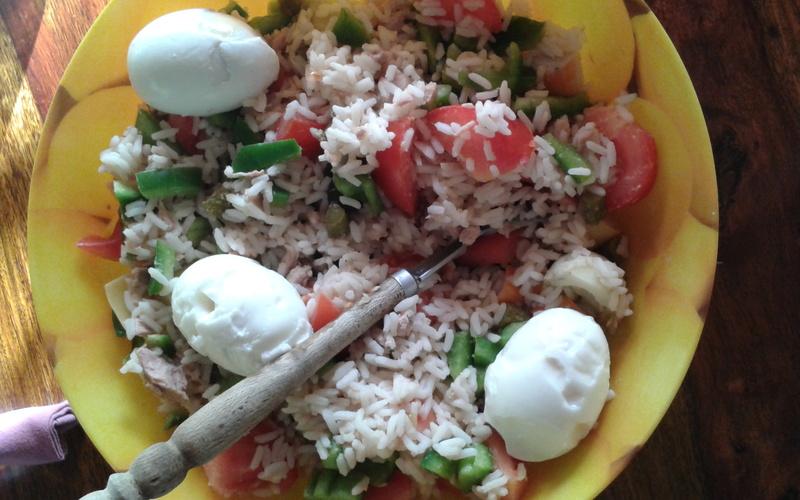 Salade de riz gourmande