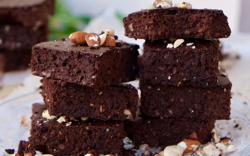 Brownie aux haricots rouges