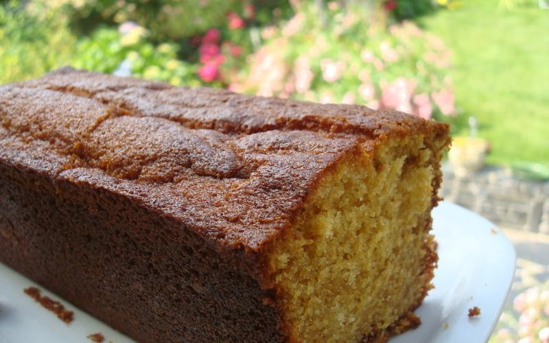 Gâteau yaourt au caramel au beurre salé