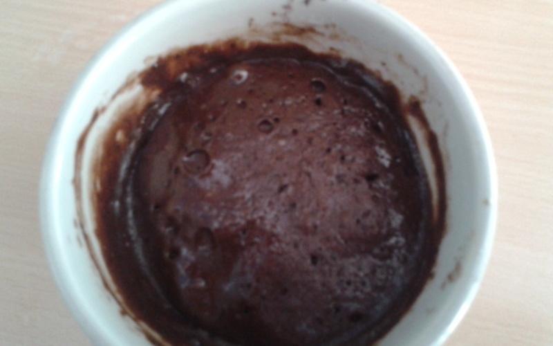 Gateau fondant au chocolat express