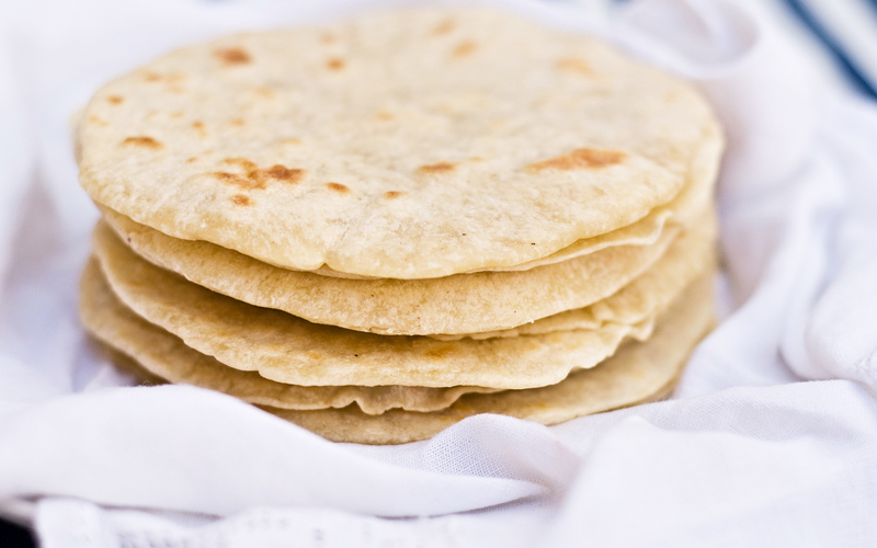 Tortillas mexicaines moelleuses