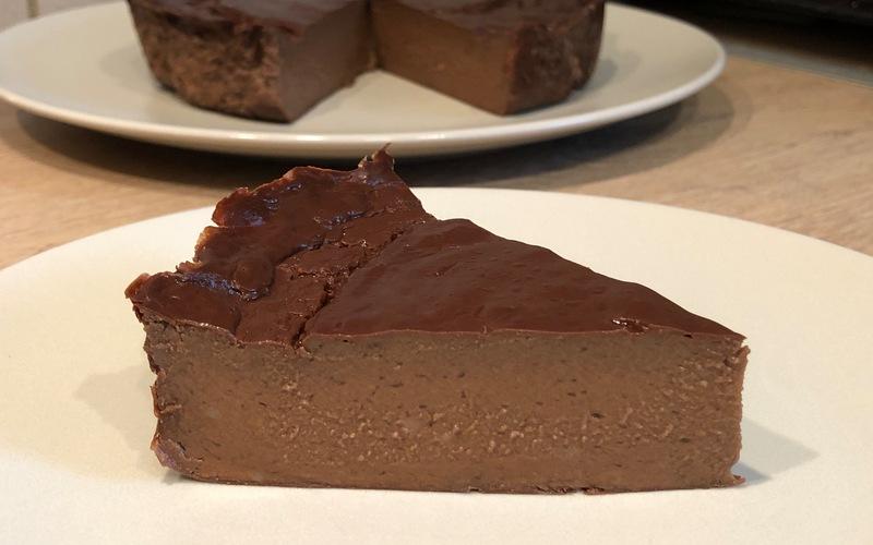 Flan sans pâte léger au chocolat