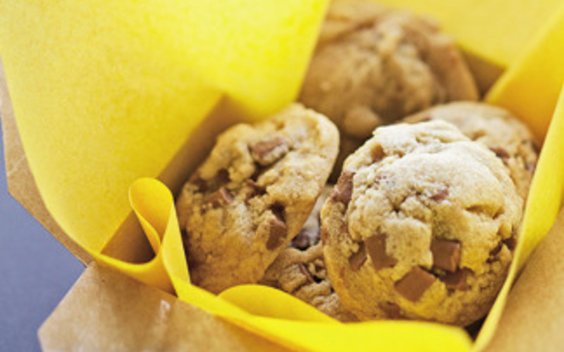 Cookies au beurre cacahuètes