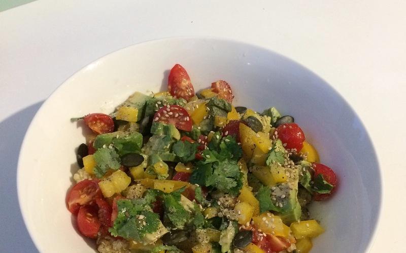 Salade fraîcheur de boulghour/quinoa.