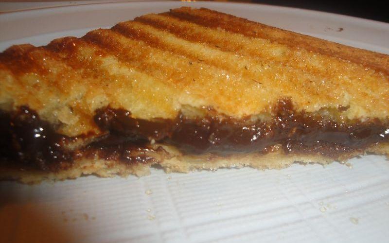 Croque au Nutella