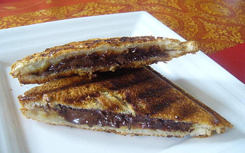 Recette croque chocolat banane pas ch re et express for La cuisine de l etudiant