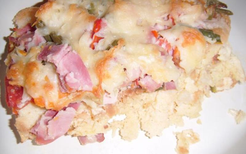 Pudding au pain salé