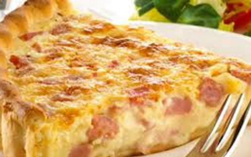 Recette quiche lorraine conomique et simple cuisine for Cuisine quiche lorraine