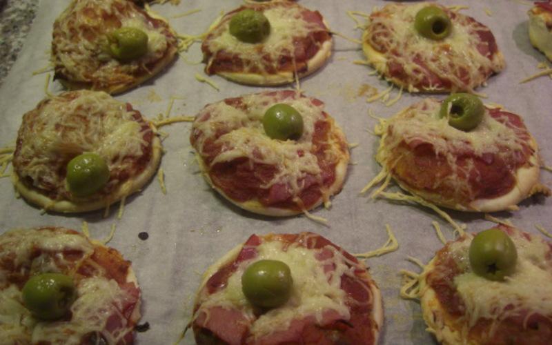 petites pizzas rapides