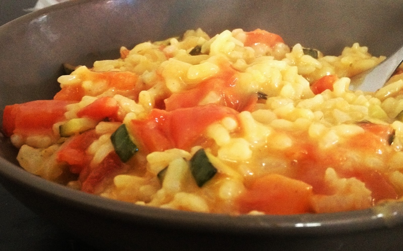 Risotto Tomates fraiches et Thym