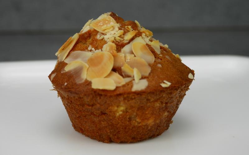 Muffins dorés aux amandes