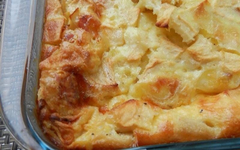 Clafouti aux maroilles et pommes