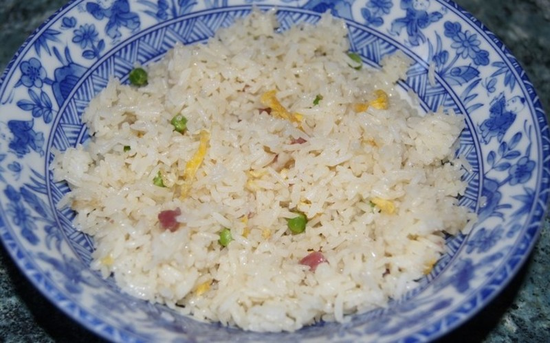 riz au micro-onde