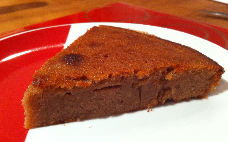 Gâteau moelleux aux marrons simplissime