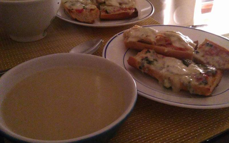 Bruschetta aux fromages