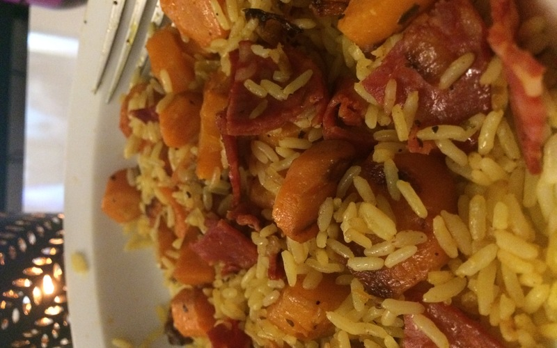recette riz au chorizo carottes conomique et facile cuisine tudiant. Black Bedroom Furniture Sets. Home Design Ideas