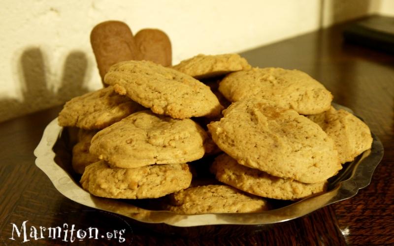 Cookies moelleux au spéculoos